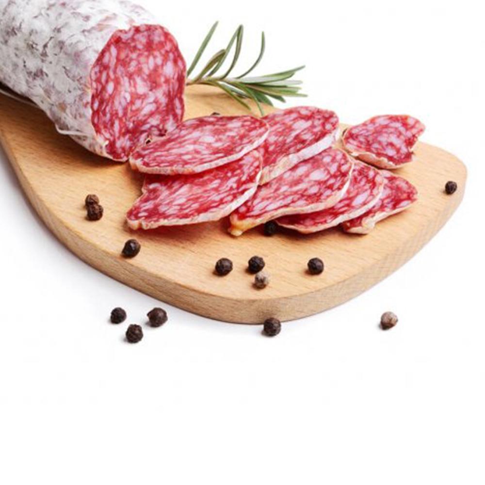 Freshly Sliced Salami