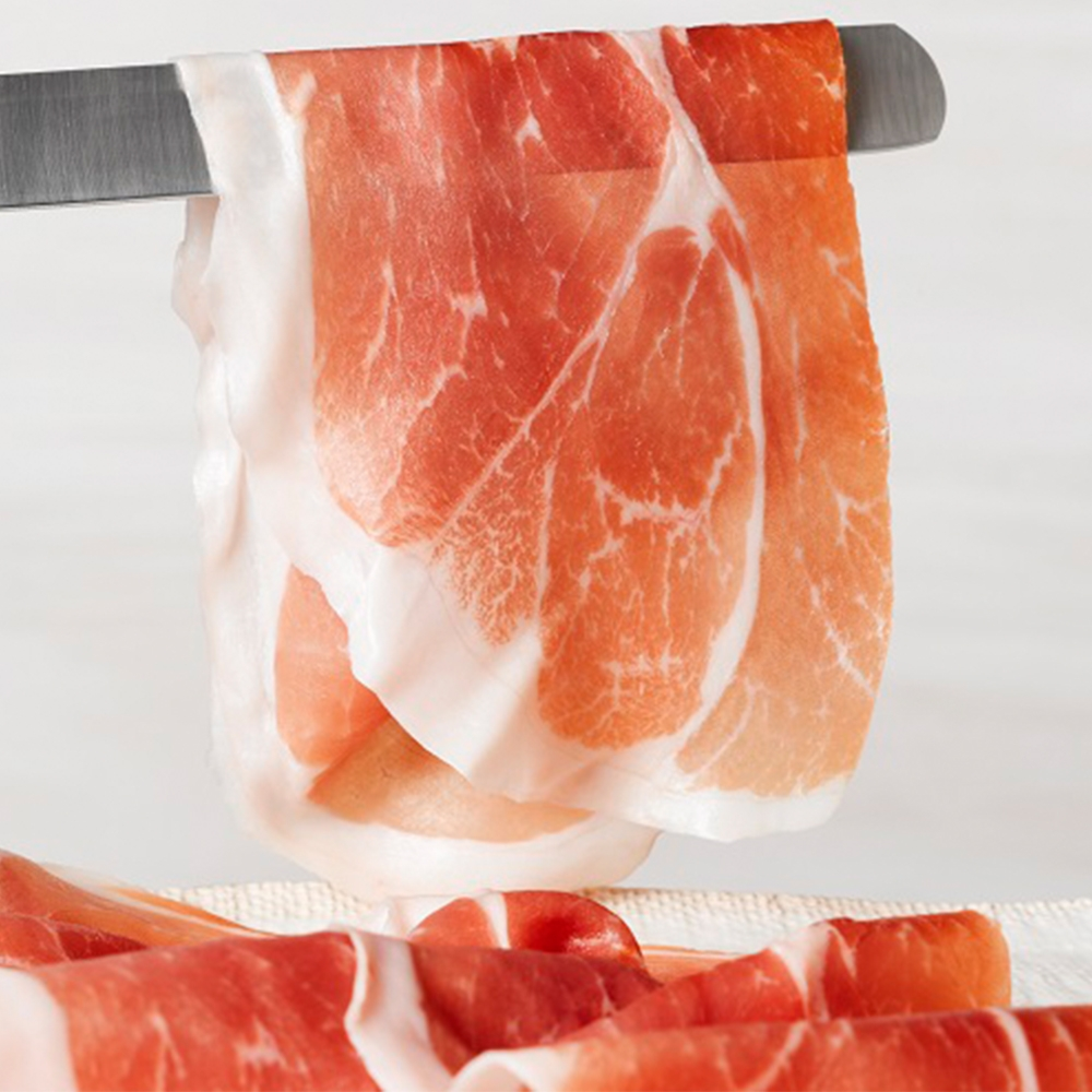 Freshly Sliced Hams