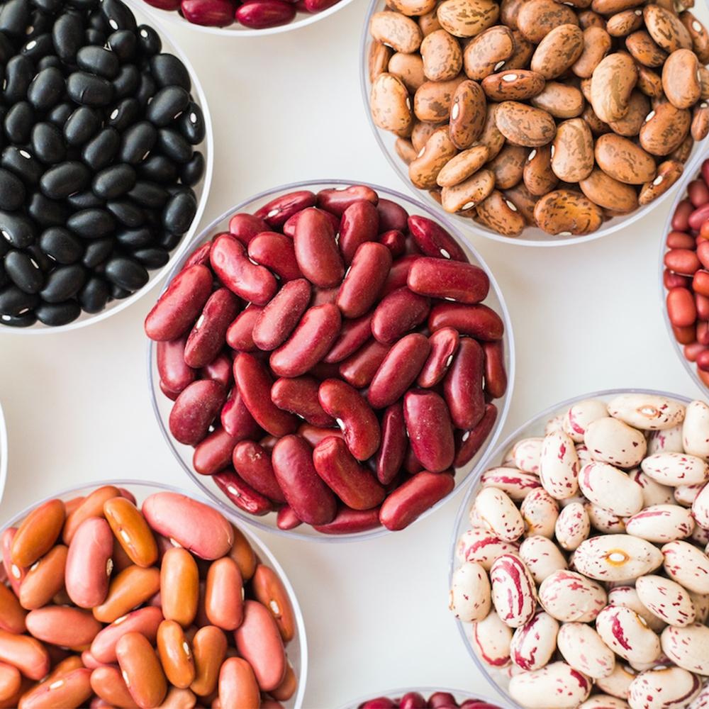 Beans, Peas, Pulses & Dry